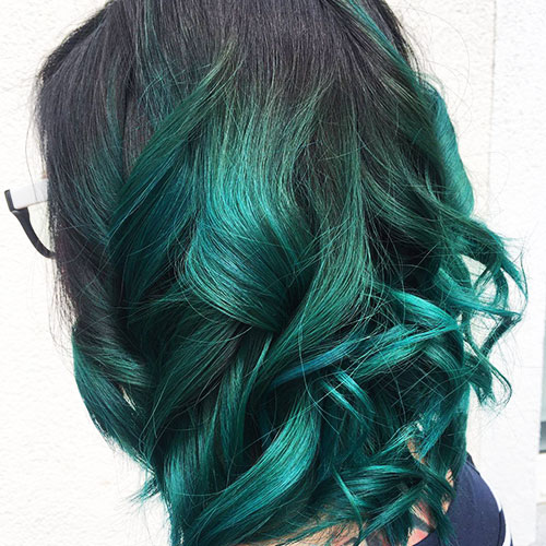 Mermaid Ombre Tuerkis