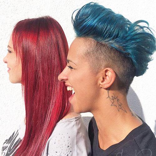 Friseur und Kosmetik
