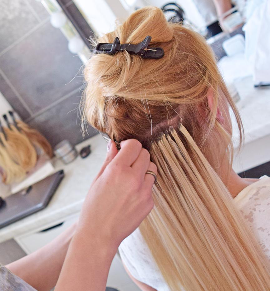 Ultraschall Haarverlängerung